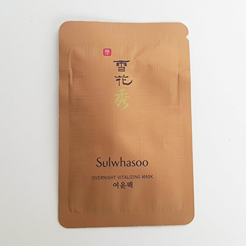 Sulwhasoo Overnight Vitalizing Mask 120ml 4ml x 30pcs
