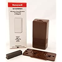Honeywell 5816WMWH White With Brown Case (5816WMBR)