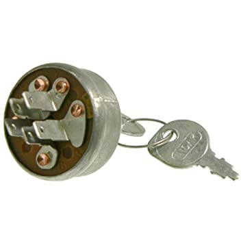 Amazon.com : Ignition Key Switch Honda John Deere Mowers Toro AM102551 23-0660 35100-772-003 : Lawn Mower Key Switches : Garden & Outdoor