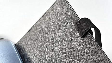15,7 x 19,7 x 3 cm Nero nero a tinta unita Remember Diario di viaggio TripBook
