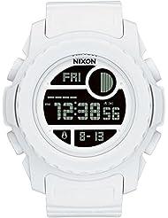 Nixon Unisex Super Unit All White Watch