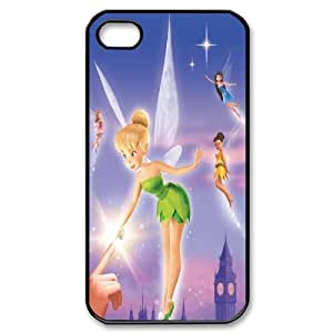 High Quality -ChenDong PHONE CASE- For Iphone 4 4S case cover -Tinker Bell In the Wind-UNIQUE-DESIGH 2