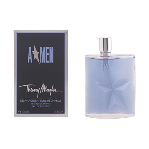 Angel Refill for Men by Thierry Mugler Eau de Toilette Spray 3.4 oz