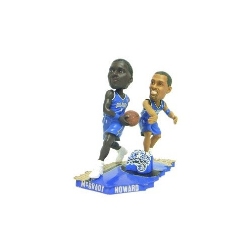 Forever Collectibles NBA Orlando Magic Mens Orlando Magic McGrady & Howard Bobble Mates - Special Order, Team Colors One Size by Forever Collectibles