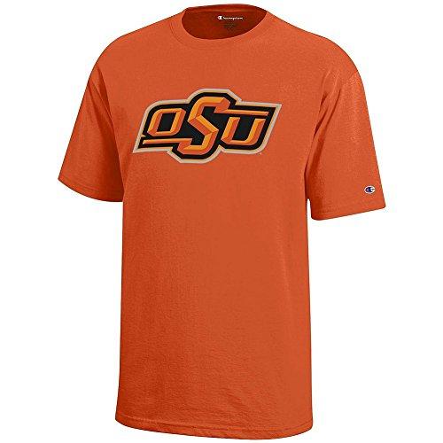 Elite Fan Shop Oklahoma State Cowboys Kids Tshirt Orange - L