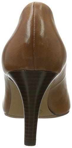 S.oliver Damen 22432 Pompe Braun (cognac)