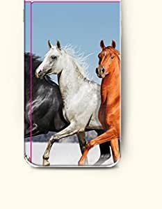 iPhone 6 Plus Case 5.5 Inches Horses with Different Colors