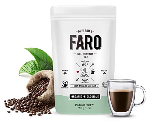 Faro Roasting Houses  Whole Coffee Beans Blend, (Aroma Roasting Oven)