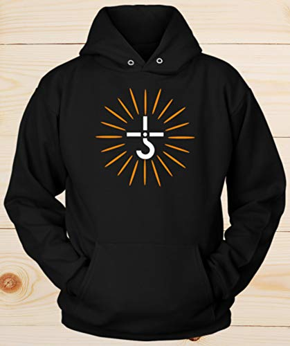 - Hook And Cross Hoodie Blue Oyster Cult 70s Classic Rock Band Tribute Gift Unisex Hoodies For Men and Women
