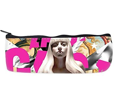 Good luck Custom Fashion lady gaga Pencil Case Bag Enjoy Pencil Pouch
