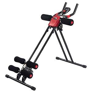 Goplus Ab Power Abdominal Trainer 5 Minute Shaper Fitness Core Toner