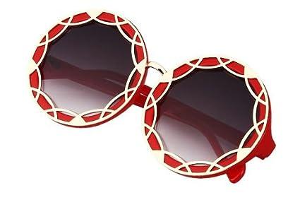 2a255023d63dba Design lunettes fantaisie lunettes de soleil unisexe large monture   Amazon.fr  Vêtements et accessoires