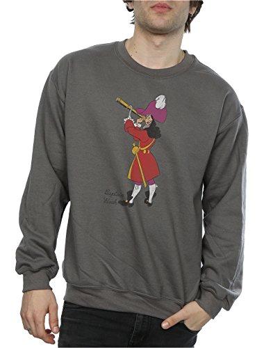 Classic Bois De Charbon Disney Sweat Hook shirt Homme Captain 5nx00w7qB8