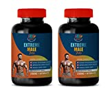 Testosterone Booster Dietary - Extreme Male Pills - Extra Strength - longjack tongkat Ali Capsules - 2 Bottles 120 Tablets
