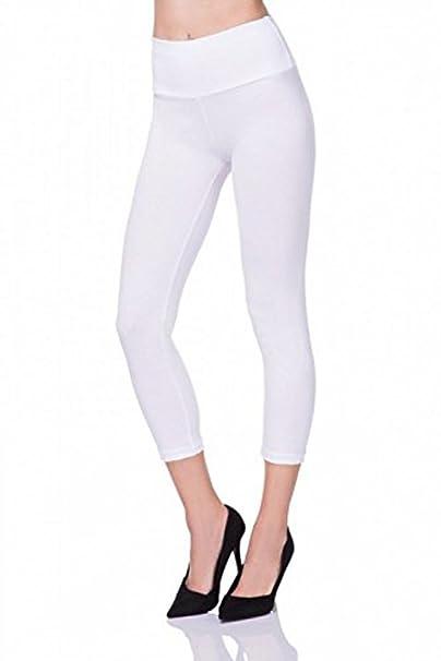 PrettyFashion Leggings Mujer 3/4 Pantalones de Yoga ...