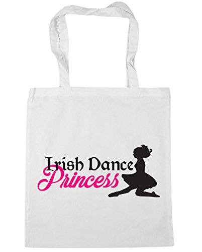 x38cm 10 Beach Irish Princess litres White Gym Dance HippoWarehouse 42cm Tote Shopping Bag qOBzx11pw