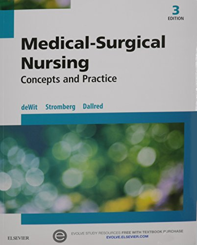 Medical-Surgical Nursing - Text, Student Learning Guide and Virtual Clinical Excursions Package: Concepts and Practice, 3e by Saunders