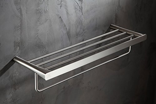 25.13'' Towel Bar - Brushed Nickel - Caster 3 Series AC-AZ058BN - ANZZI by ANZZI (Image #1)