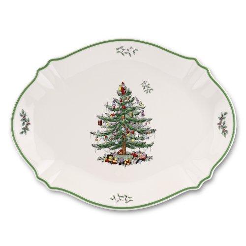 Spode Christmas Tree Oval ()