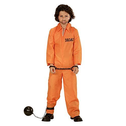 (Boys Orange County Jail Bolier Suit Costume (8-10)