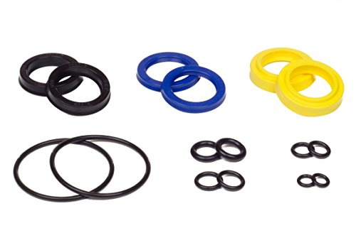 SeaStar HS5157 & HS5167 Aftermarket Front Mount Hydraulic Boat Power Steering Cylinder Seal Kit, Seals ONLY - Fits Sea Star HC5345 & More. - Hydraulic Steering Cylinder Mount