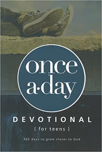 photograph relating to Printable Devotions for Tweens called : When-A-Working day Devotional for Adolescents (0025986729950