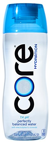 CORE Hydration Perfect 7.4 pH Nutrient Enhanced Water, 20 Ounce (Pack of 24)