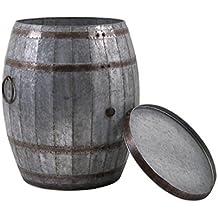 IMAX viñedo barril de vino Almacenamiento mesa auxiliar