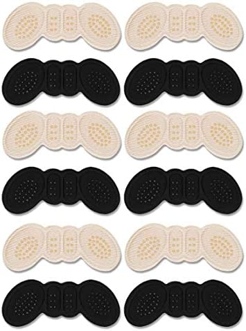 Heel Cushion Inserts, Heel Protectors, Heel Pads-Prevents Chafing and Blisters, Heel Grips for Loose Shoes [6Pairs 3 Thin+3 Thick]