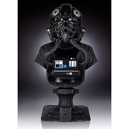 Star Wars TIE Fighter Pilot Mini Bust Statue by Gentle Giant