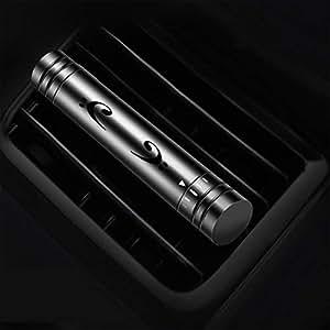 IDEA-TECH Car Air Fresher Freshener, Car Air Outlet Aromatherapy, Inculding 1pcs Non-alcoholic Gulong Aromatherapy Stick (Black)