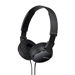 Sony-MDRZX110BLK-On-ear-Negro