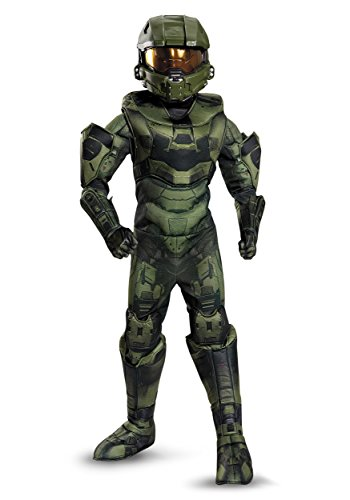 Disguise Master Chief Prestige Costume, Small (4-6) (Halo Costume Child)