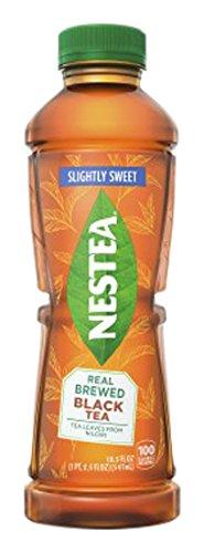 nestea-real-brewed-slightly-sweet-black-iced-tea-185-ounce-bottles-pack-of-12