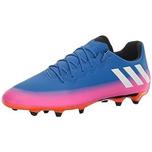 adidas Men's Messi 16.3 FG Soccer Shoe, Blue/White/Warning, (9 M US)