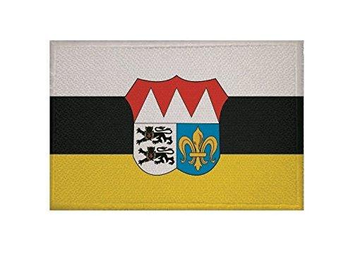 U24 Aufn/äher Landkreis W/ürzburg Fahne Flagge Aufb/ügler Patch 9 x 6 cm
