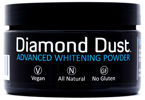 Price comparison product image Activated Charcoal Teeth Whitening Powder - Fights Stains and Bad Breath, Detox Your Mouth Naturally, Organic Botanicals, New 7 Month Supply by Diamond Dust