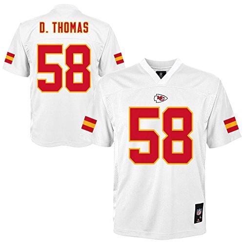 NFL Kansas City Chiefs (Derrick Thomas) Player Jersey, Youth Boys Medium(10-12) -