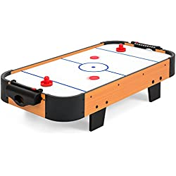 Best Choice Products 40in Air Hockey Table w/Electric Fan Motor, 2 Sticks, 2 Pucks - Multicolor