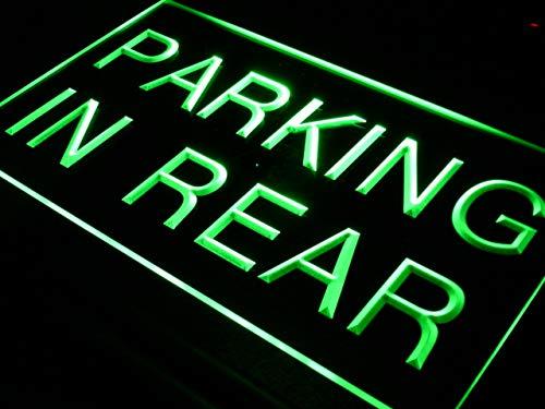 ADVPRO Parking In Rear Car Display LED看板 ネオンプレート サイン 標識 Yellow 600 x 400mm st4s64-i425-y B07H7RVQFX 24