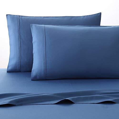 Fiesta Solid Color Sheet Set, Lapis Blue, Queen -