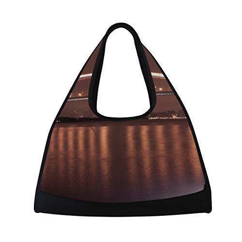 (LAZEN Tennis Bag Badminton Bag Ping-Pong Bag Gym Bag Travel Handbag High Capacity Great)