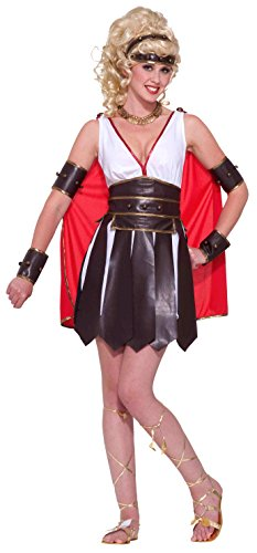Forum Novelties Women's Gods and Goddesses Sexy Gladiator Costume, Multi, X-Small/Small (God And Goddesses Costume)
