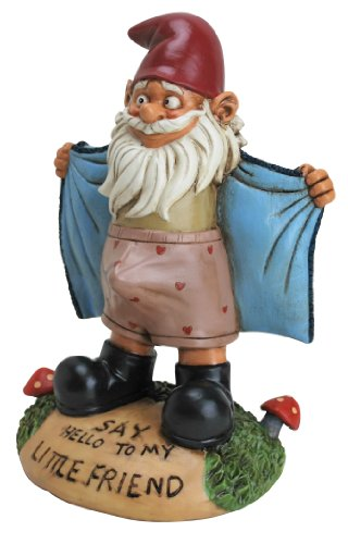 Big Mouth Toys Perverted Little Gnome