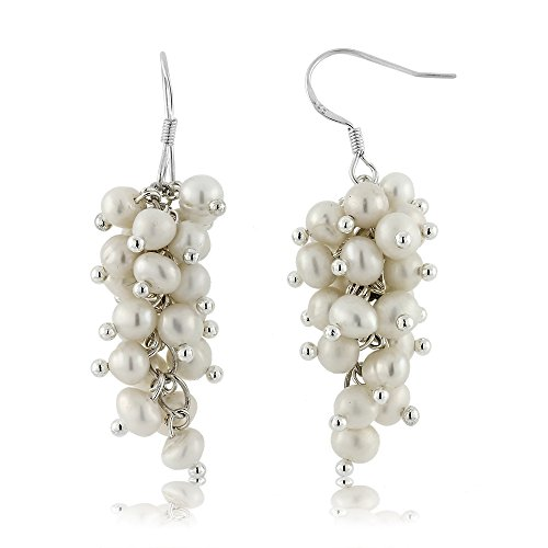 Cultured Freshwater Sterling Silver Earrings product image