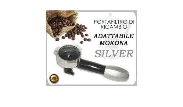 S&G - Brazo portafiltro para cafetera Mokona Bialetti Gaggia G107 ...