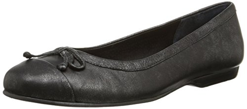 Rose Petals Women's Fame Flat Black Antique