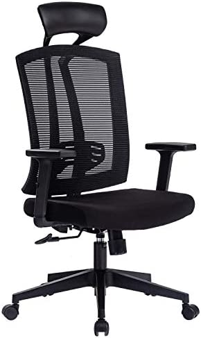 Kasorix Big and Tall Mesh Chair Comfortable Office Chair
