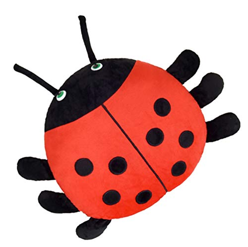 Skyseen Ladybug Plush Pillow Stuffed Animal Ladybird Plush Toy 13.8