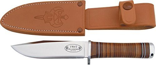 Fallkniven NL4 Fine Edge Fixed Blade Knife, Brown
